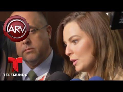Julián Gil y Marjorie de Sousa se vieron cara a cara | Al Rojo Vivo | Telemundo