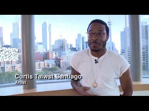 AGO Art   Curtis Talwst Santiago, Toronto artist   #BasquiatAGO