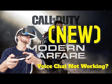 (NEW) Call Of Duty Modern Warfare Voice Chat Not Working, Fix! (Read Description)