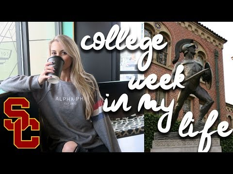 college week in my life @ usc