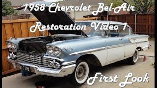 1958 Chevrolet Bel Air Restoration Video 1 of 12
