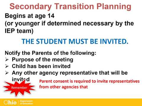 ODE: The Essential School-Age IEP Part 1