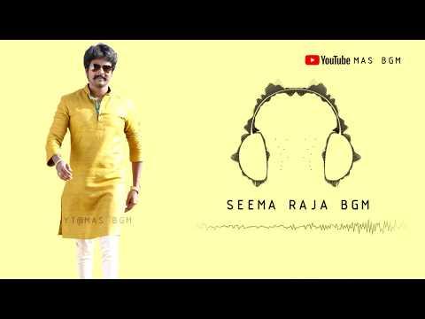 Seema Raja BGM | Siva Karthikeyan | Free Audio With Video Link👇 | 24am Studios | Mas BGM