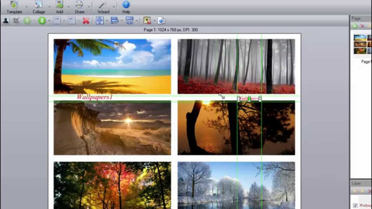 how to create picture collage on your pc youtube