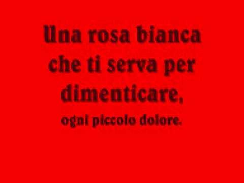 Simone Cristicchi - Ti regalerò una rosa (Testo)