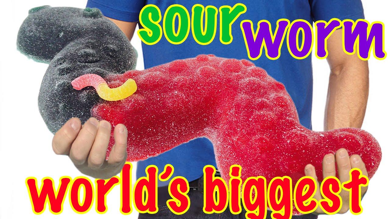 giant sour worm recipe how to cook that ann reardon slither io youtube