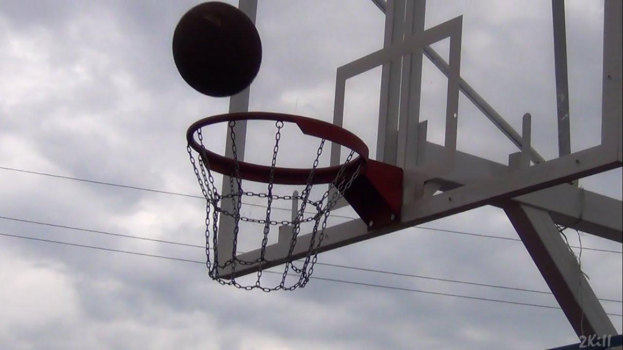 Броски в баскетбольное кольцо - YouTube
