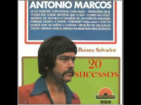 Antonio Marcos disco de ouro
