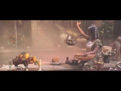 Kelly Hu Bath Tub   The Scorpion King  The Rock  Dwayne Johnson