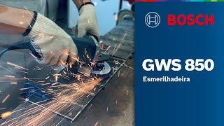 Nova Esmerilhadeira Bosch GWS 850