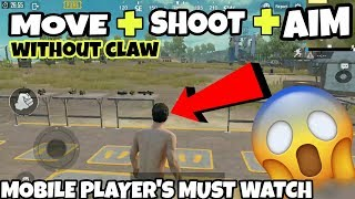 How to move+shoot+aim+peek simultaneously in pubg