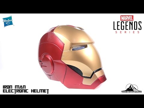 Marvel Legends Iron Man Electronic Prop Helmet Video Review