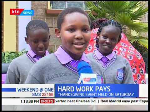 Gilgil School awards top KCPE Scorers in a thanksgiving event held on Saturday