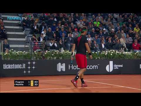 Djokovic in Vintage Form, Fognini Cracks Massive Milestone | Rome 2018 Day 2 Highlights