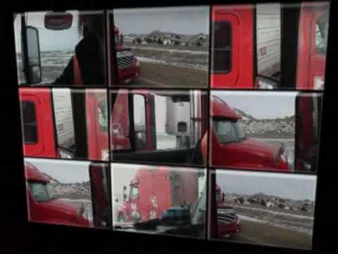 North Dakota i94 Spring 2009 trucking video