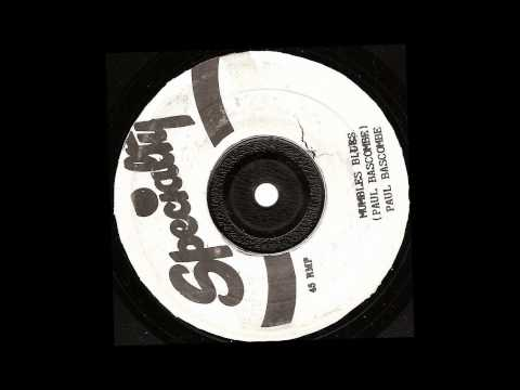 Paul Bascombe - Mumbles Blues - specialty records 1954 jamaican pressing R&B