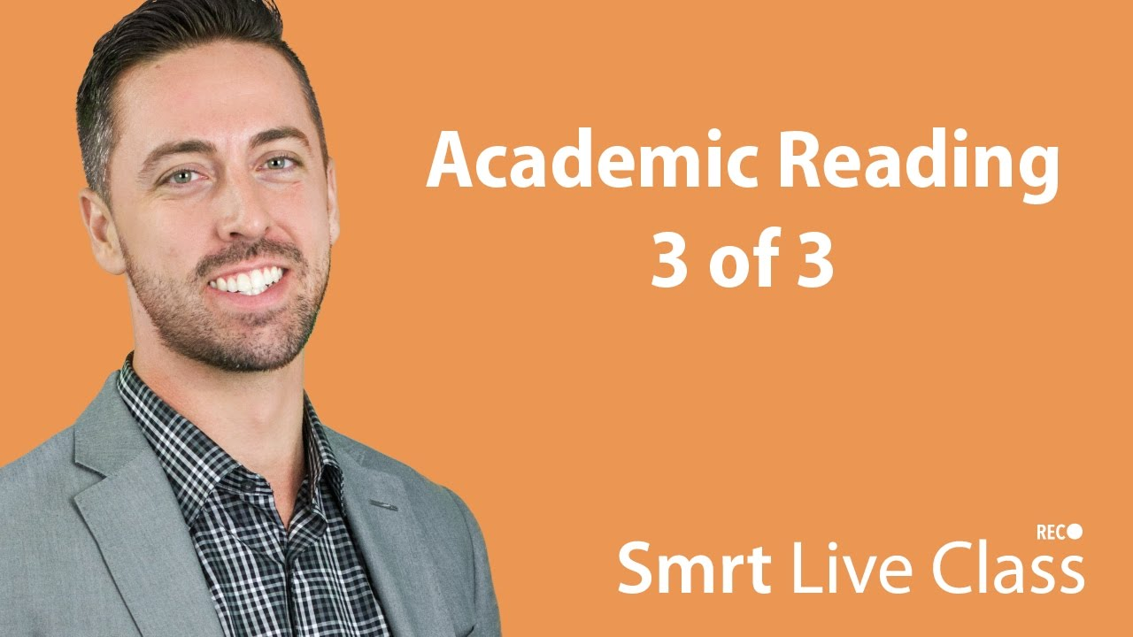 Academic Reading 3 of 3 - English for Academic Purposes with Josh #33