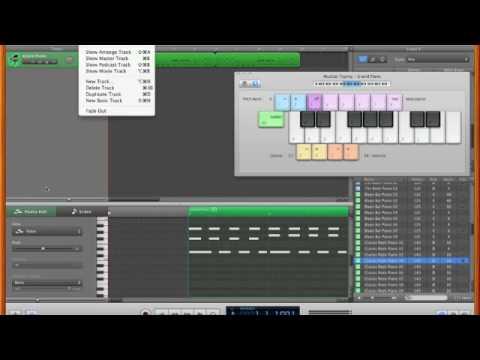 Piano Garage Band : Piano chords into garageband youtube