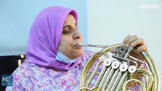 Egypt's visually-impaired female orchestra holds concert in Cairo