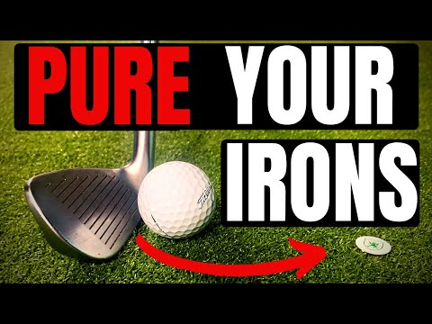 THE BEST GOLF DRILL TO STRIKE YOUR IRONS PURE - IN 2 MINUTES!!!