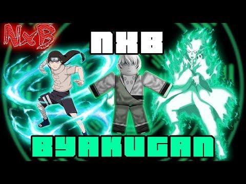 BYAKUGAN FULL MOVESET SHOWCASE (THIS IS SLEPT ON!) | Naruto RPG: Beyond