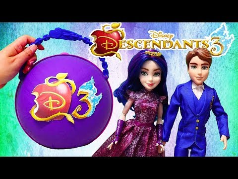 Descendants 3 LOL Big Surprise Custom Ball with Toys and Dolls for Kids  SWTAD