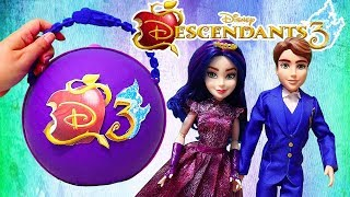 SWTAD Vids | Descendants 3 LOL Big Surprise Custom Ball with Toys and Dolls for Kids
