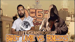 Elte Championship: Baret Lavoe c vs Genesis (Dog Days Of Summer)
