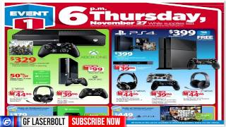 BLACK FRIDAY DEALS GAMER GUIDE Best Buy GameStop WalMart Target 2014 Black Friday