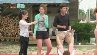 라붐, 탈북 미녀들과 함께 사상 최고 난이도 '인간 탑 쌓기' 성공!