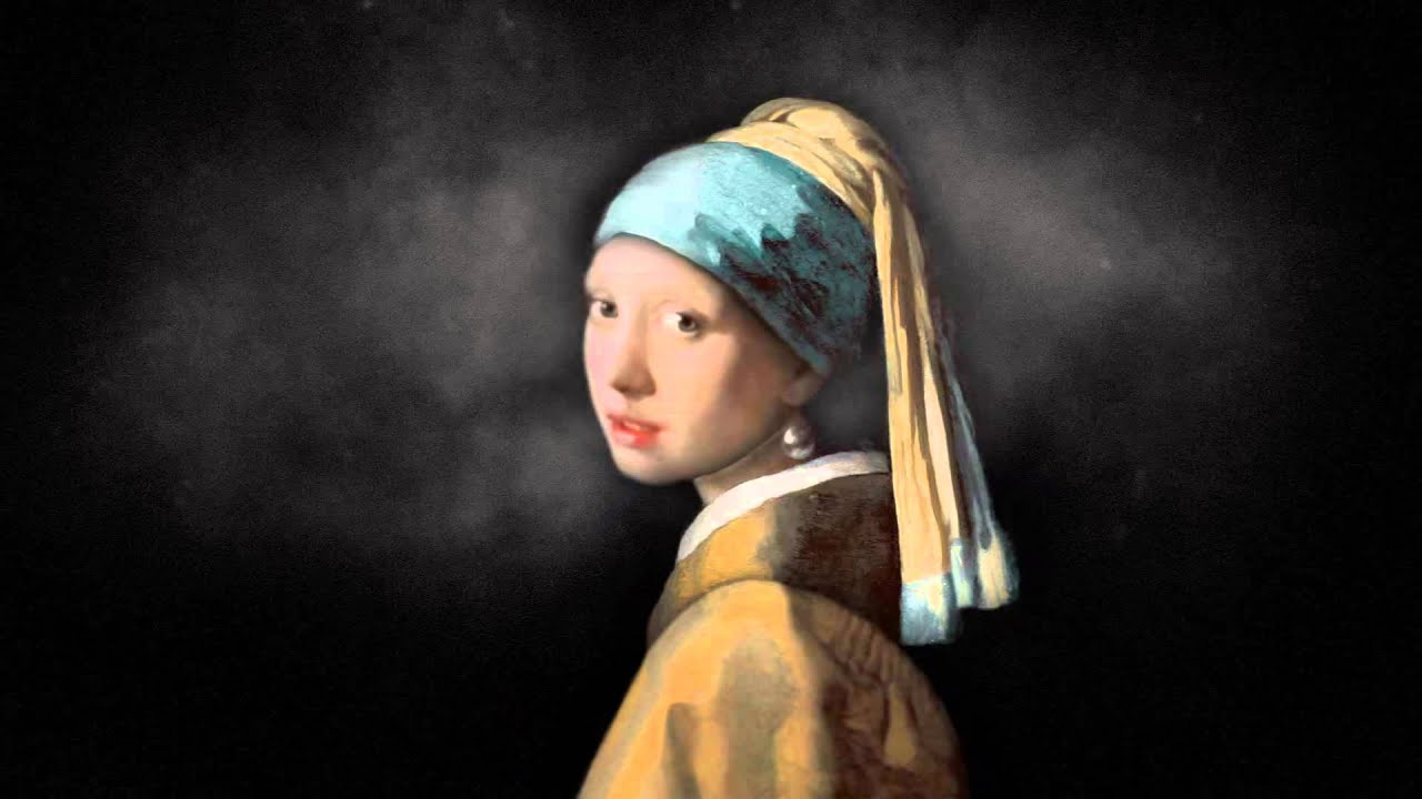 Parallax Artwork: Johannes Vermeer  Girl With A Pearl Earring