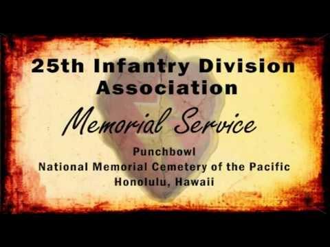 25th ID Association Memorial Service 2OCT11