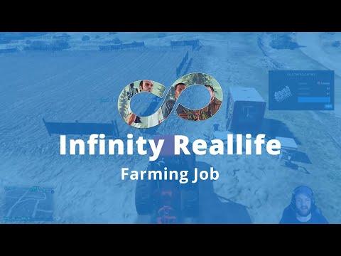 » DER FARMING JOB « GTA 5 INFINITY REALLIFE | Deutsch - German | Roleplay Server