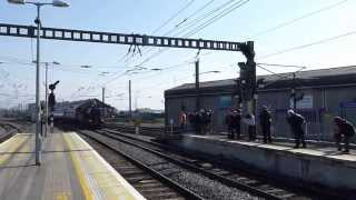Steam Locomotive   Irish Rail  Connolly station  21/04/2014