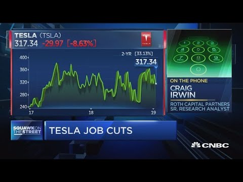 Tesla job cuts should have been anticipated, says analyst