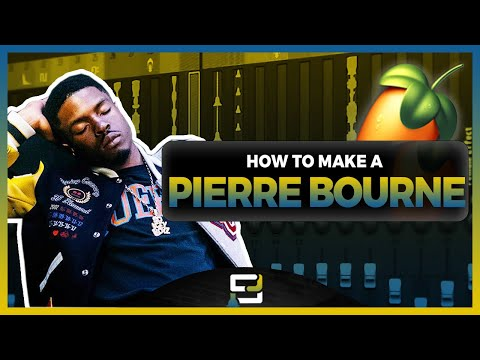 How To Make A Pi'erre Bourne Type Beat Using FL Studio 20 | Beat Making Tutorial From Scratch
