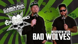 Interview with Tommy Vext & John Boecklin from Bad Wolves at Carolina Rebellion 2018