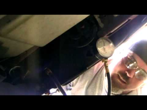 Chevy Trailblazer - testing fuel pressure 2002 -2004 4.2 ...