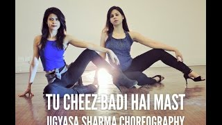Tu Cheez Badi Hai Mast | High On Heels Choreography | Bollywood | StepKraft