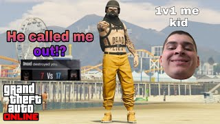 """This tryhard said """"1v1 me"""" so I threw on some orange joggers and he..."""