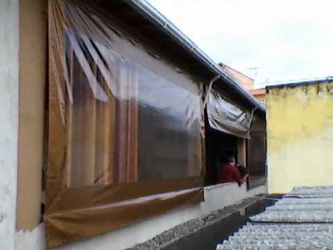 Cortina youtube for Cortinas de plastico para exteriores