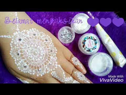 White Henna Wedding Youtube