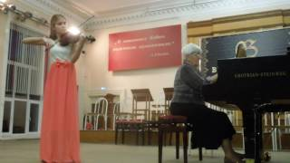 Ш. Данкля Концертное соло G dur   Сандра