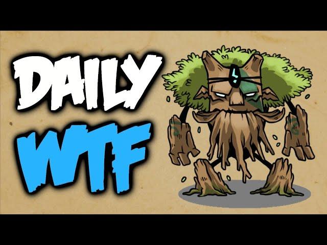 Dota 2 Daily WTF - Flying tree's last Defense