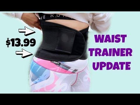 order online casual shoes exquisite design VENUZOR Waist Trainer Belt for Women - Waist Cincher Trimmer ...