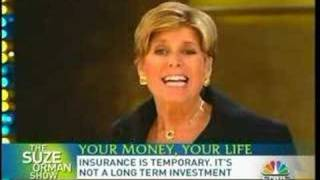 Susan Orman on Life Insurance