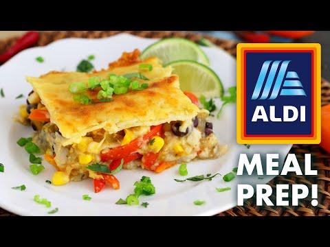 $50 ALDI Vegetarian Meal Prep for the Week