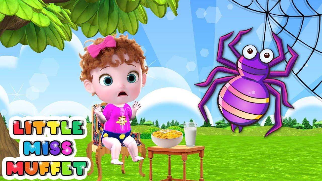 Little Miss Muffet Baby Nursery Rhymes & Kids Songs