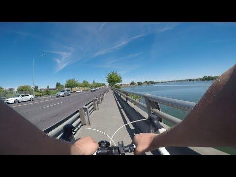 Riding through Moses Lake, WA (GoPro Hero 5 Black w/ Karma Grip)