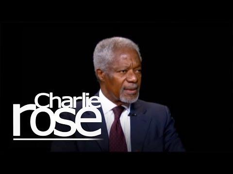 Kofi Annan (09/10/12) | Charlie Rose